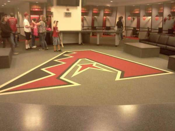 Chase Field, section: Locker Room