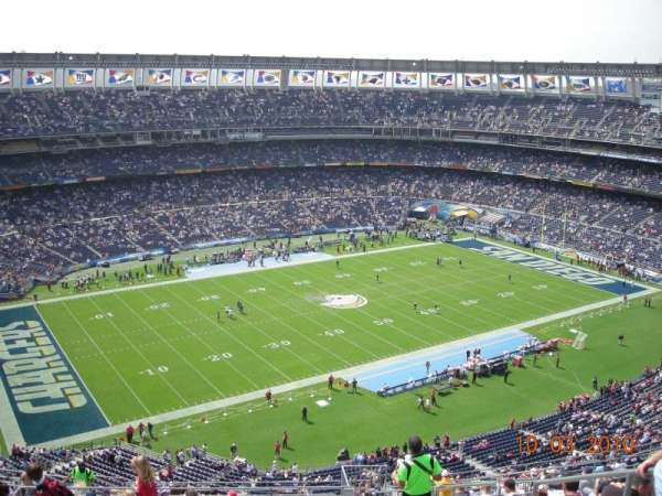 SDCCU Stadium, section: V61