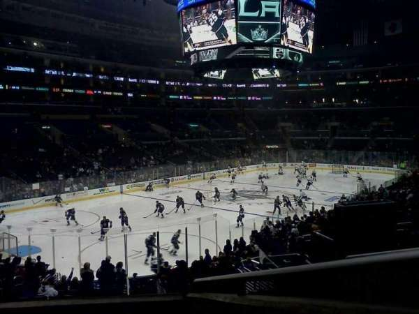 Staples Center, section: PR9, row: 4, seat: 12