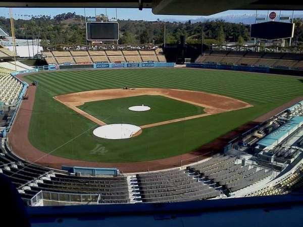 Dodger Stadium, section: Press Box