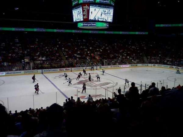 Gila River Arena, section: 113, row: V, seat: 9