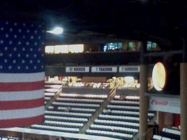 Gila River Arena, section: 222, row: O, seat: 1