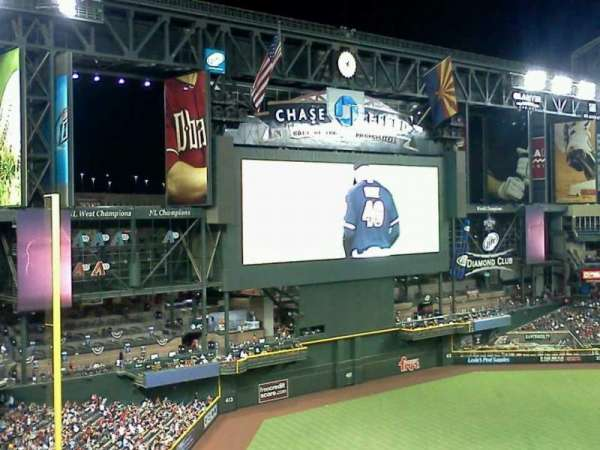 Chase Field, section: 328, row: 10, seat: 17
