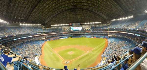 Rogers Centre, section: 524AL, row: 5, seat: 105