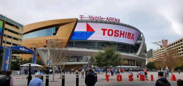 T-Mobile Arena, section: Main Entrance