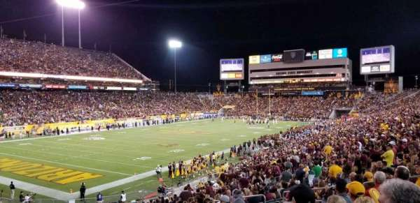 Sun Devil Stadium, section: 12, row: 15, seat: 10