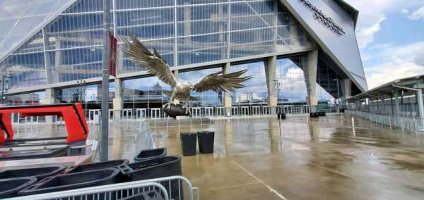 Mercedes-Benz Stadium, section: Gate 2