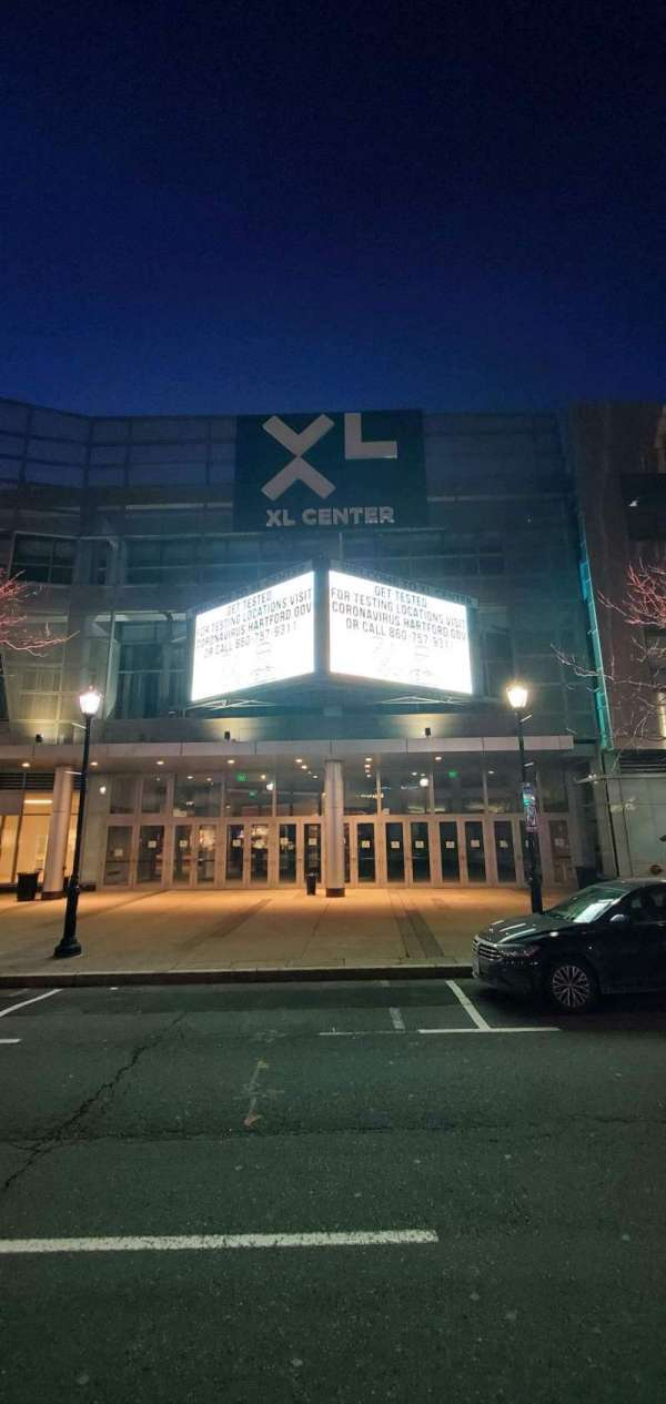 XL Center, section: Main Entrance