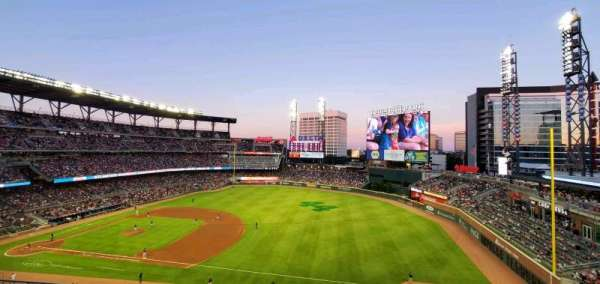 Truist Park, section: 316, row: 3, seat: 2