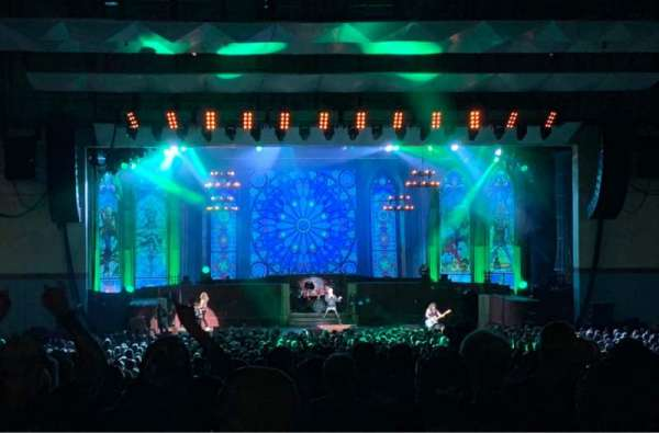 Riverbend Music Center, section: 800, row: RR, seat: 826