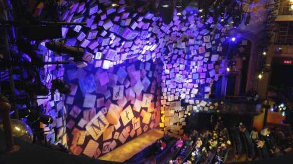 Shubert Theatre, section: Balcony, row: B, seat: 27