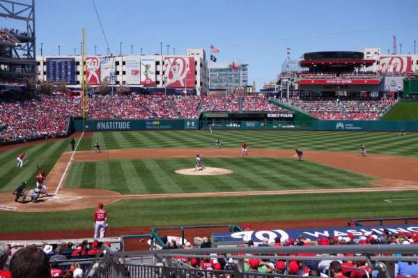 Nationals Park, section: 126, row: L, seat: 3