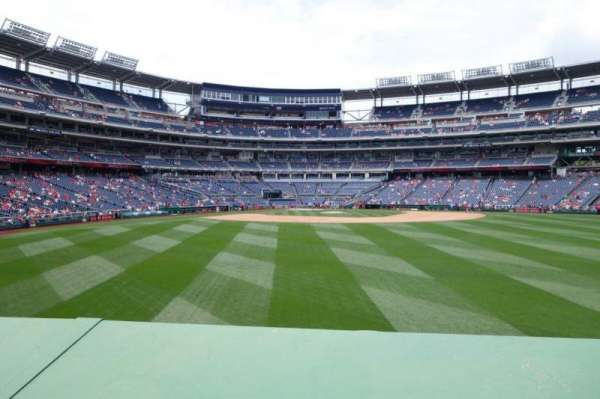Nationals Park, section: 141, row: A, seat: 5