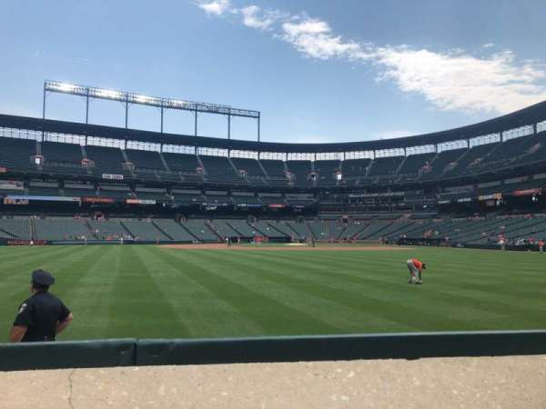 Oriole Park at Camden Yards, section: 84, row: 1, seat: 14-15