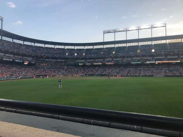 Oriole Park at Camden Yards, section: 98, row: 1, seat: 9-10