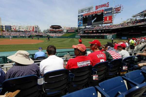 Nationals Park, section: 132, row: E, seat: 2