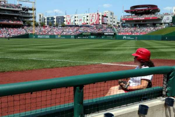 Nationals Park, section: 135, row: B, seat: 2
