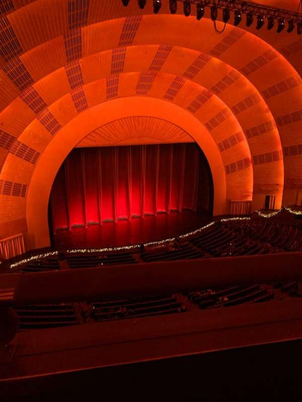 Radio City Music Hall, section: 3rd Mezzanine 6, row: A, seat: 611