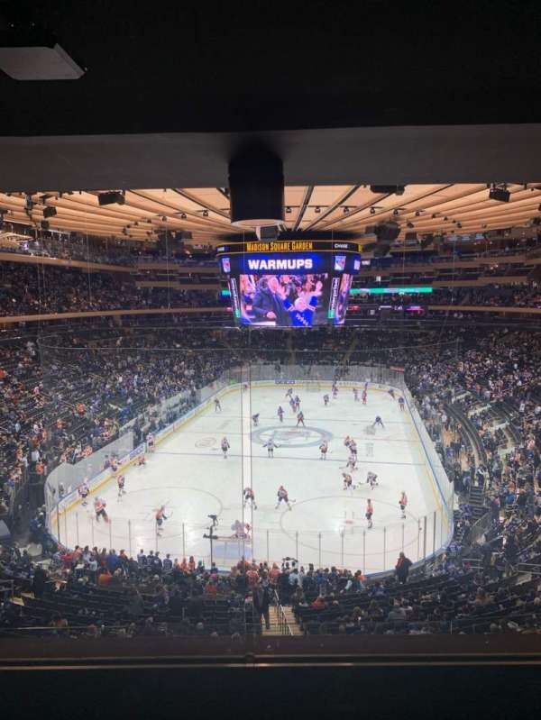 Madison Square Garden, section: 218, row: 4WC, seat: 5