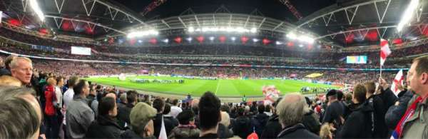 Wembley Stadium, section: 122, row: 20, seat: 317