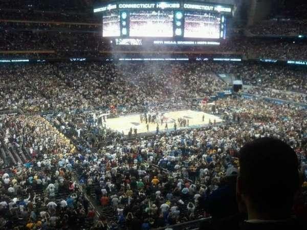 NRG Stadium, section: 341, row: M, seat: 1