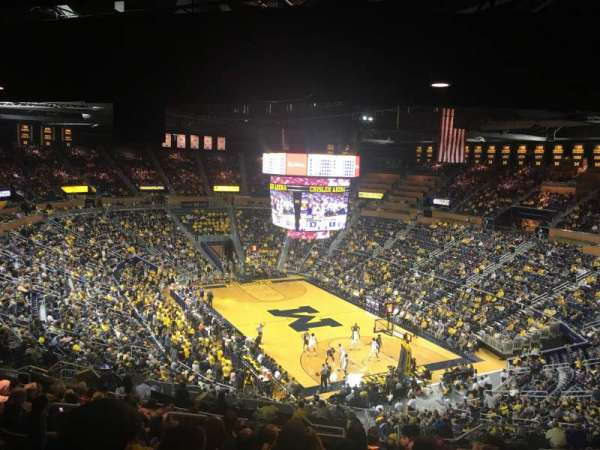 Crisler Center , section: 217, row: 37, seat: 10