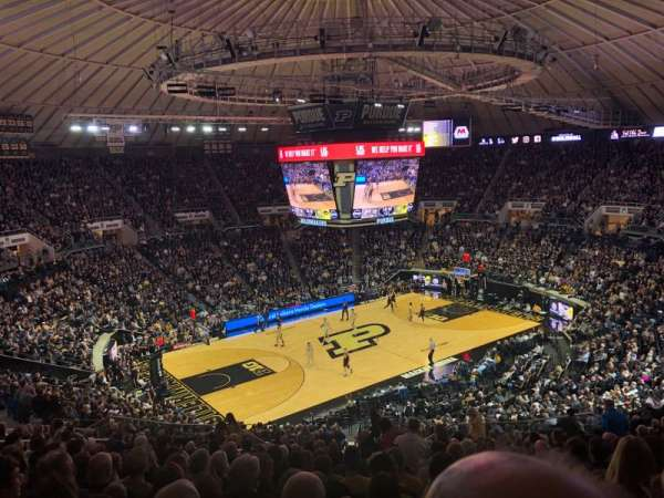 Mackey Arena, section: 112, row: 21, seat: 15