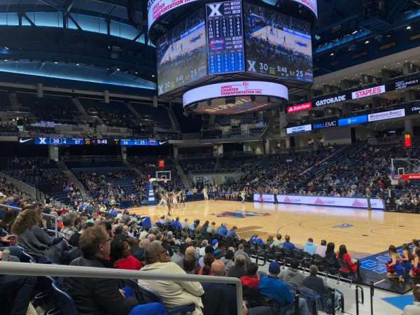 Wintrust Arena, section: 121, row: E, seat: 17