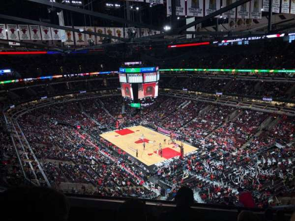 United Center, section: 312, row: 11, seat: 14