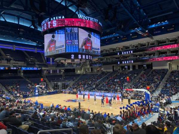Wintrust Arena, section: 121, row: L, seat: 10