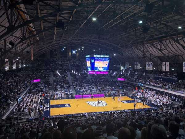 Hinkle Fieldhouse, section: 319, row: 11, seat: 22