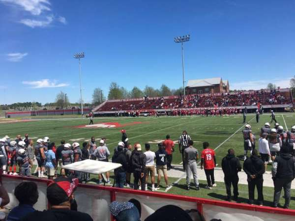 Setzler Field, section: B, row: 6