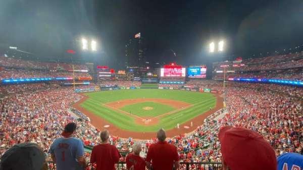 Busch Stadium, section: 250, row: 4, seat: 7