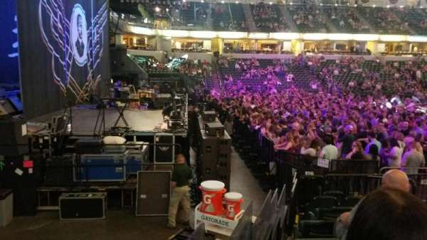 Bankers Life Fieldhouse, section: 18, row: 13, seat: 6