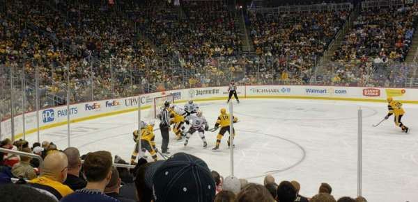 PPG Paints Arena, section: 113, row: J, seat: 7