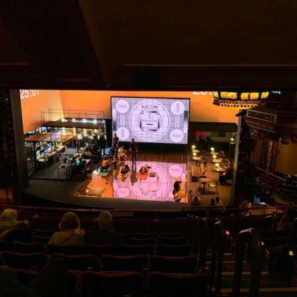 Belasco Theatre, section: Mezzanine C, row: H, seat: 111