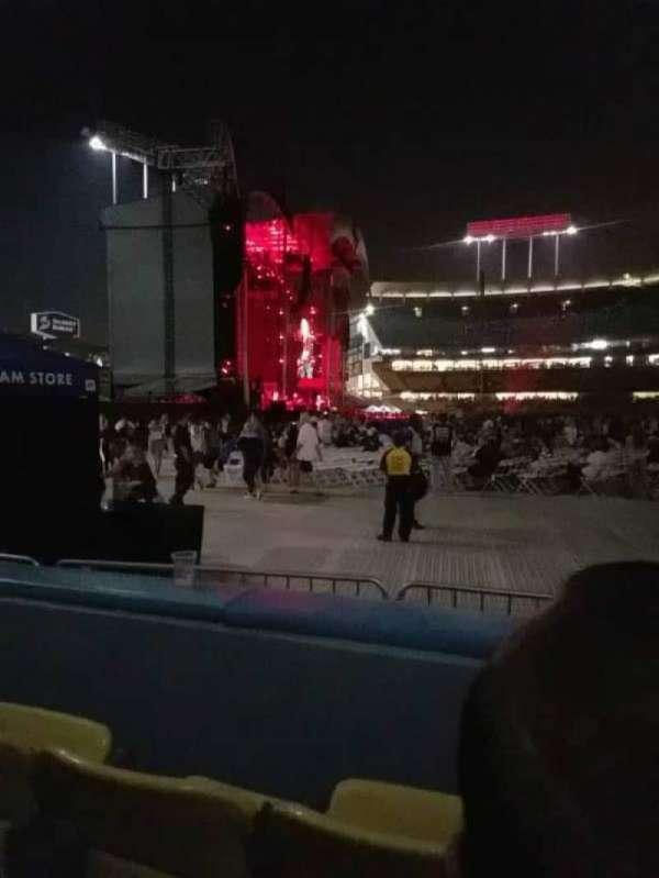 Dodger Stadium, section: 51fd, row: B, seat: 5