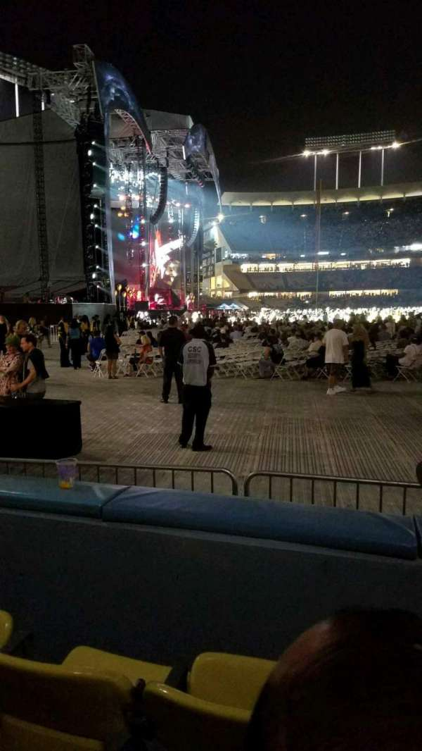 Dodger Stadium, section: 51fd, row: B, seat: 5