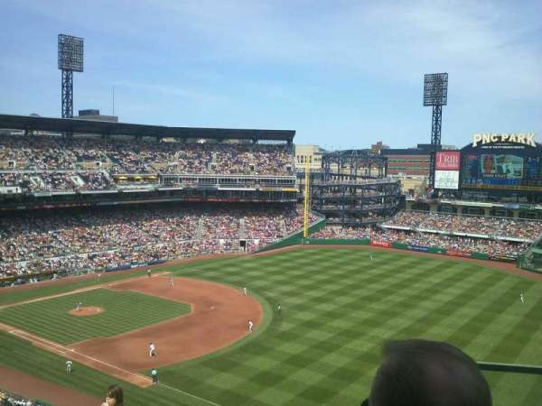 PNC Park, section: 303, row: L, seat: 2