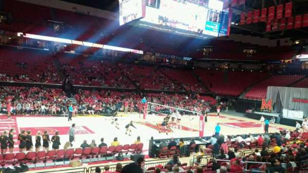 Xfinity Center (Maryland), section: 126, row: 3, seat: 16
