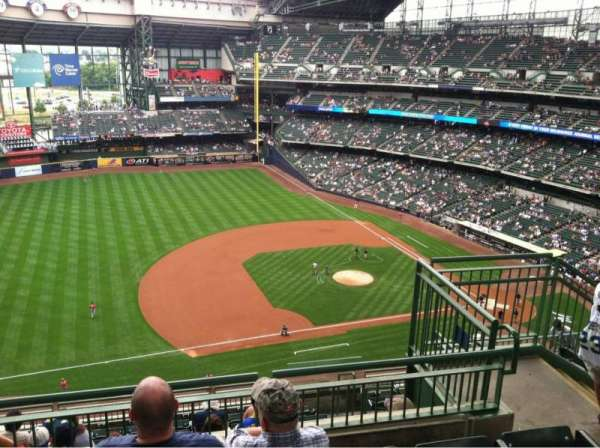Miller Park, section: 431, row: 11, seat: 5