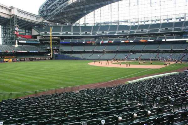 Miller Park, section: 129, row: 23, seat: 9