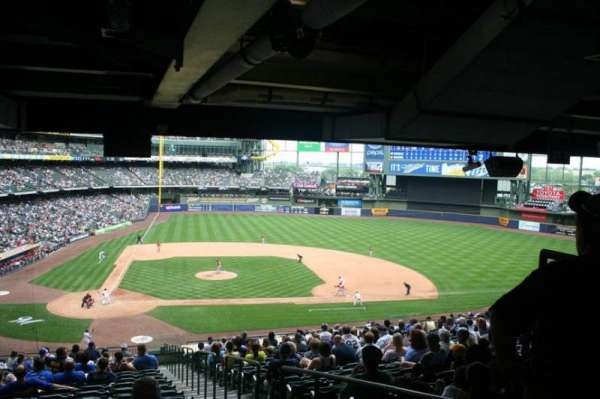 Miller Park, section: 215, row: 21, seat: 23
