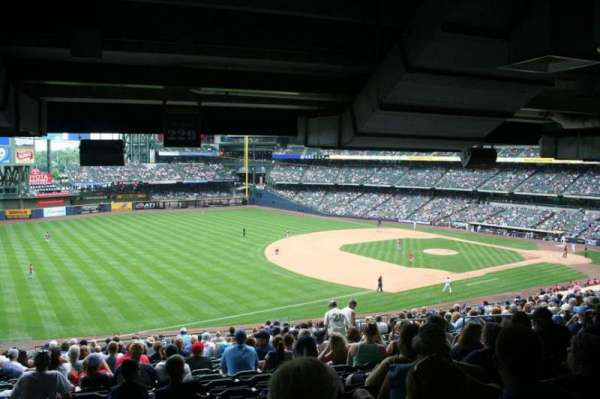 Miller Park, section: 229, row: 21, seat: 11