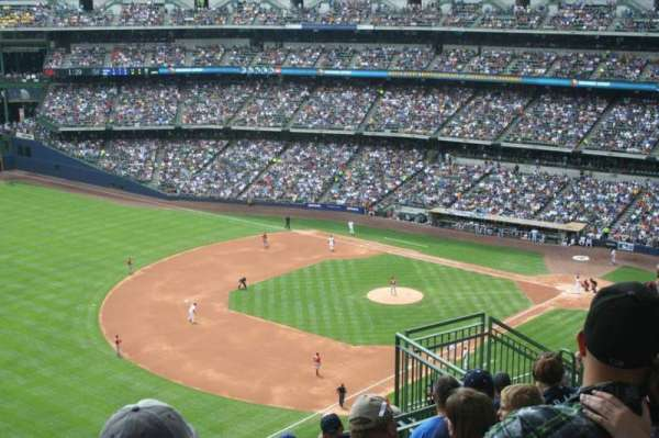 Miller Park, section: 435, row: 15, seat: 10
