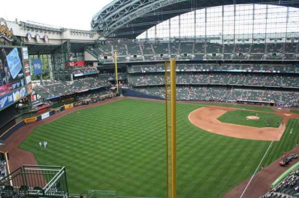 Miller Park, section: 439, row: 13, seat: 13