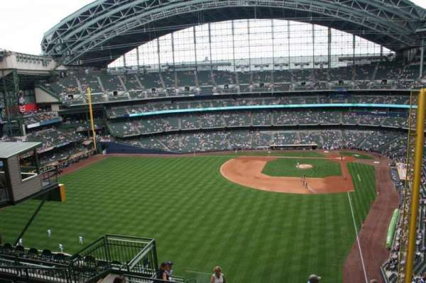 Miller Park, section: 441, row: 14, seat: 10