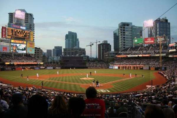 Petco Park, section: E, row: 6, seat: 3