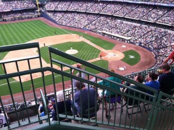 Miller Park, section: 430, row: 8, seat: 20