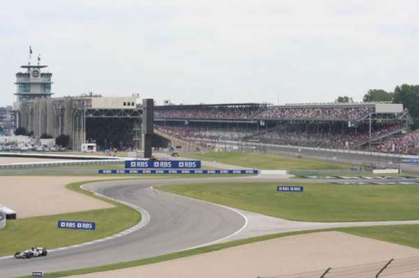Indianapolis Motor Speedway, section: 21, row: NN, seat: 18